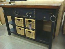 distressed black kitchen island distressed kitchen island ebay