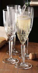 by waterford sparkle flute set of 4