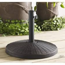 Patio Umbrella Stand by Plastic U0026 Resin Patio Umbrella Stands U0026 Bases You U0027ll Love Wayfair