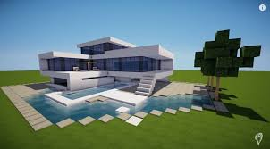 modern house blueprints trendy design minecraft modern house designs 8 pe simple