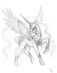 nightmare moon sketch by royallycrimson on deviantart