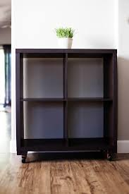 Target Shelves Cubes by Diy Shelf To Cart Makeover