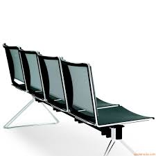ml177 panca bench for waiting room with seats in plastic and