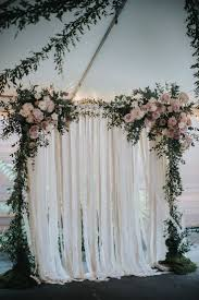 wedding backdrop greenery jacqueline ivan green building wedding wedding ceremony arch