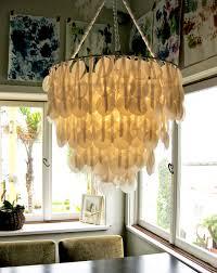 diy shell chandelier diy project brenna s paper capiz shell chandelier design sponge