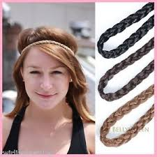 braid hairband braid plait around forehead elastic hair hair band tribal