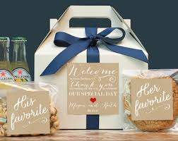 out of town guest bags set of 6 out of town guest box wedding welcome bag