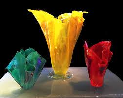 decorative glass vases keller art glass cleveland oh