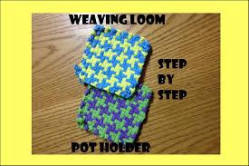 mary u0027s houndstooth potholder weaving loom tutorial youtube