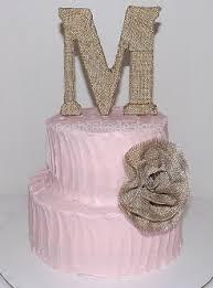 Shabby Chic Baby Shower Cakes by Babyshower3