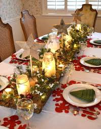 christmas decor for center table christmas table decorations for a magical atmosphere www