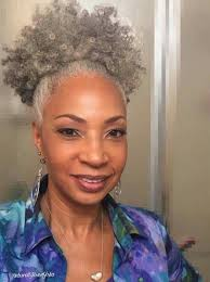 afro hairstyles pinerest 1000 ideas about curly gray hair on pinterest long gray hair grey
