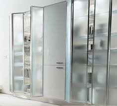 Glass Kitchen Cabinet Door by Frosted Glass Kitchen Cabinet Doors