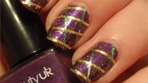 mardi gras nail mardi gras nails style nails magazine