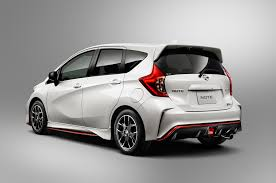 nissan versa rear bumper nissan note nismo coming to japan this fall will it come stateside
