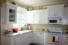 What Color White For Kitchen Cabinets Painting Kitchen Cabinets White Beauteous Painted Kitchen Cabinet