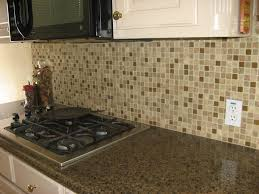kitchen backsplash tile blue white ceramic tiled floor orange