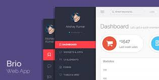 brio web app bootstrap admin template dashboard by freakpixels