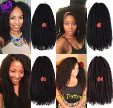 how long does hair ombre last free shipping ombre afro kinky twist hair marley braids hair