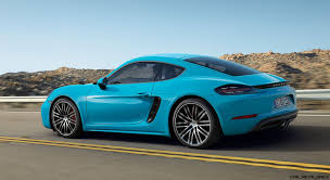 fastest porsche 2017 4 2s 350hp 2017 porsche 718 caymans revealed boosted boxer fours