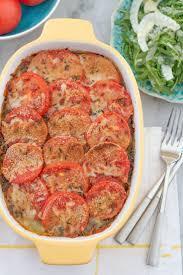 baked scalloped potato casserole with pesto recipe potato