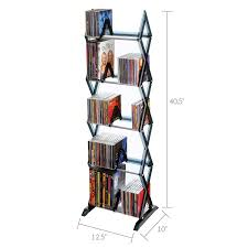 amazon com cd and dvd cases racks and storage