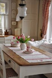 Country Style Dining Table And Chairs White Country Dining Table Foter