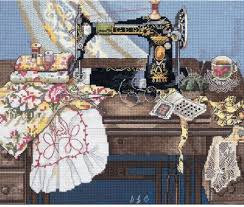 candamar designs sewing with cross stitch kit 51265