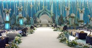 blue wedding decorations uk wedding table decoration hire uk