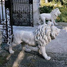 lion statues lion statue ebay