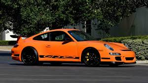 orange porsche 911 gt3 rs 2007 porsche 911 gt3 rs s144 monterey 2016
