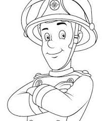 13 fireman sam coloring pages images fireman