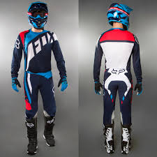 fox motocross gear combos fox motocross u0026 enduro mx combo fox flexair seca blue maciag