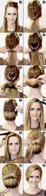 Hochsteckfrisurenen Dutt Selber Machen by Runden Sie Das Gesicht Mit Einem Lässigen Dutt Edle Frisure