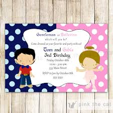 little man birthday invitations little man gentleman ballerina invitation kids birthday party
