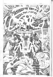 jack kirby quote unpublished silver surfer u0026 galactus in the january 2010 jack