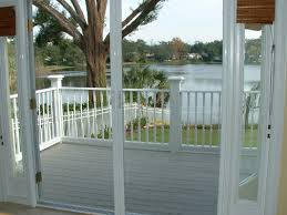 retractable screen door exterior with custom door screens custom