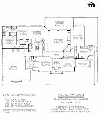 ranch house plans with walkout basement house plan luxury 4 bedroom ranch house plans with walkout