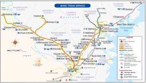 A Train Map Brunswick Line Schedules Maryland Transit Administration
