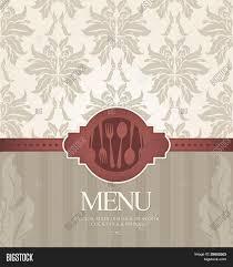 restaurant menu design seamless vector u0026 photo bigstock