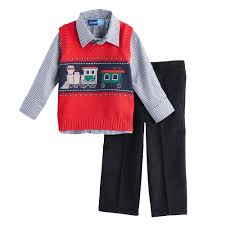 boy great sweater vest plaid shirt corduroy set