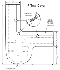 ada under sink pipe insulation under sink injury prevention products for the safety of wheelchair users