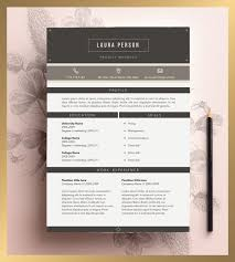 Resume Template Editable 148 Best Creative Resume By Cvdesign Images On Pinterest Cv