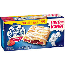 Toaster Strudel Ad Pillsbury Toaster Strudel Strawberry Toaster Pastries 12 Count