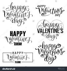 quotes about halloween with white background happy valentines day card set calligraphic stock vector 529404922