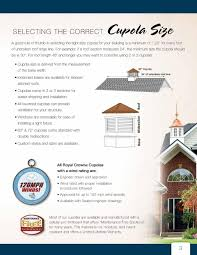 Build Your Own Cupola Cupolas U0026 Weathervanes Simplebooklet Com