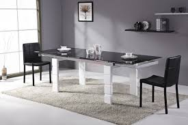 Chaise Haute Pour Salle A Manger by Beautiful Table A Manger Blanche Extensible Photos Amazing House