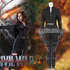 Halloween Costume Black Widow Aliexpress Buy Marvel U0027s Captain America Civil War Black