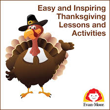 easy and inspiring thanksgiving lessons and activities