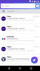yahoo mail android yahoo mail for android s 5 0 beta comes with a bedazzling material